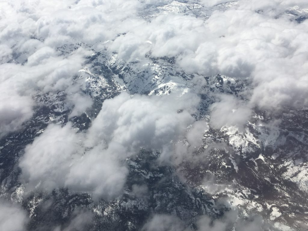 Passing over the Sierras