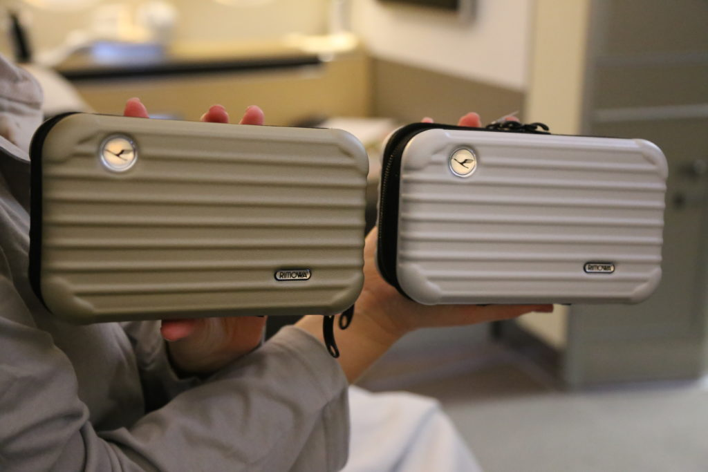 Miniature Hard-Shelled Suitcase Amenity kits!